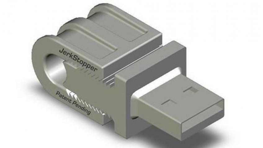JerkStopper на защите ноутбука