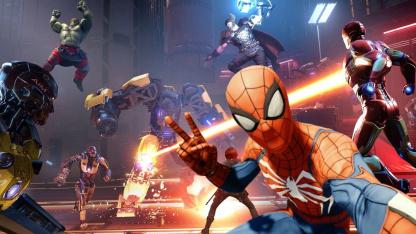 В конце года в «Мстителей» добавят первый рейд и да, Человека-паука — на PlayStation