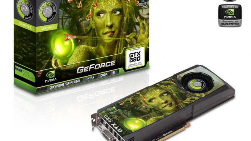 NVIDIA позволила партнерам разгонять GeForce GTX 580