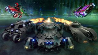 Хеллоуинское событие в Rocket League посвящено DC и Бэтмену