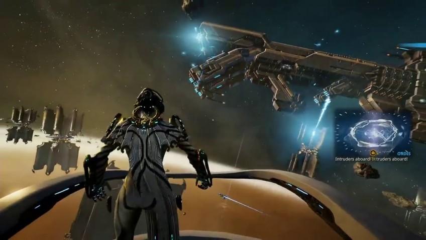 В грядущих космических боях в Warframe звездолёты не будут двигаться