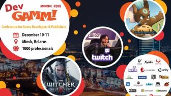 Конференция DevGAMM пройдет в Минске 10-11 декабря