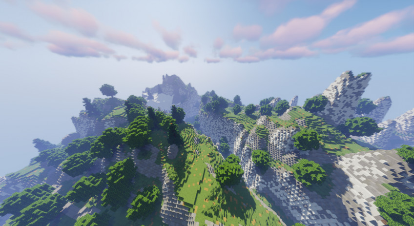 Полную карту The Legend of Zelda: Breath of the Wild воссоздали в Minecraft6