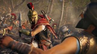 Английская розница: Assassin's Creed Odyssey стартовала чуть хуже «Истоков»