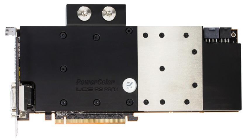 PowerColor анонсировала Radeon R9 290X LCS