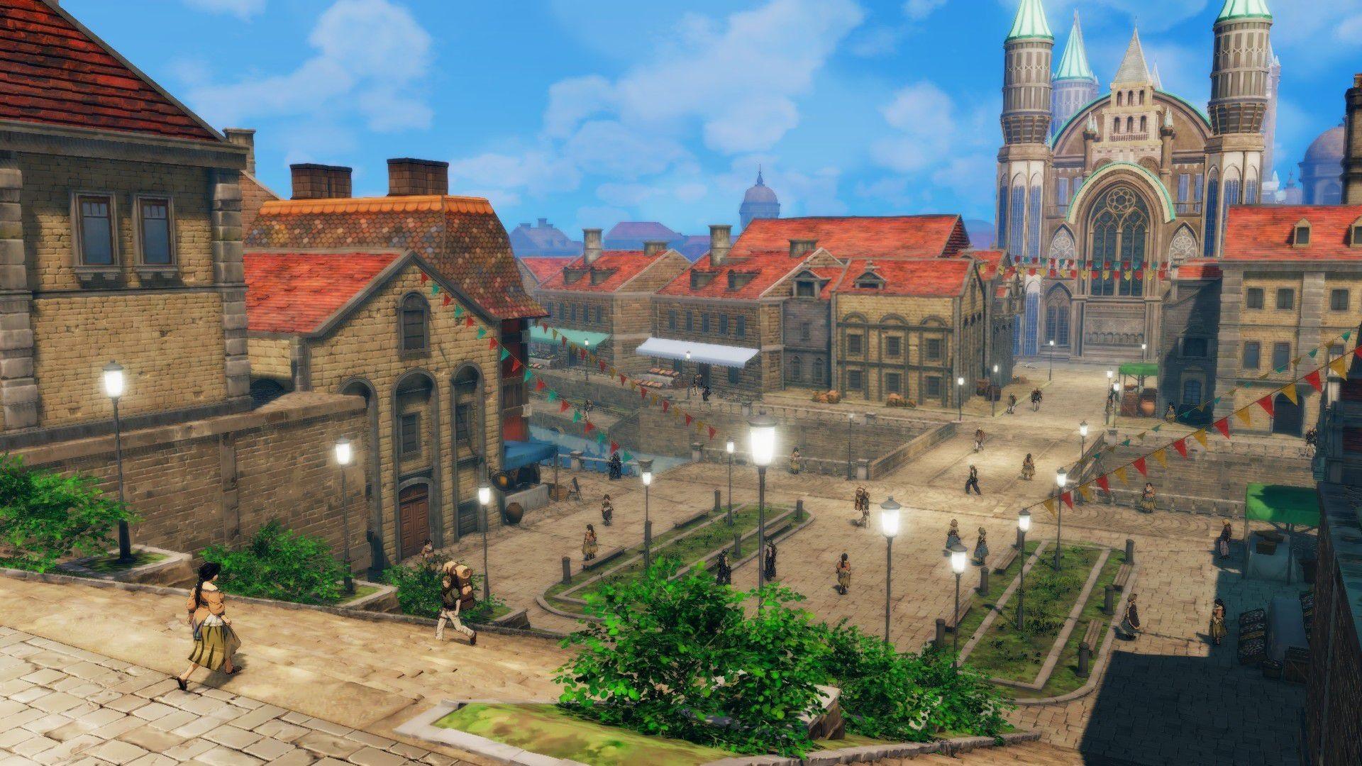 Авторы ролевой игры Fairy Tail показали город Магнолию