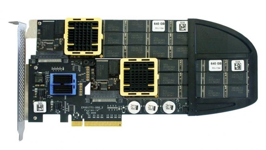 Сверхзвуковые SSD-массивы компании Fusion-io