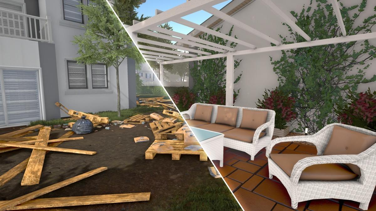 House Flipper позволит благоустраивать дворы и сады