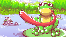 В Steam вышел 4K-ремастер браузерной игры Frog Fractions