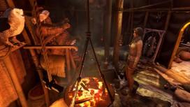 На новых картинках Syberia3 запечатлен лагерь юколов