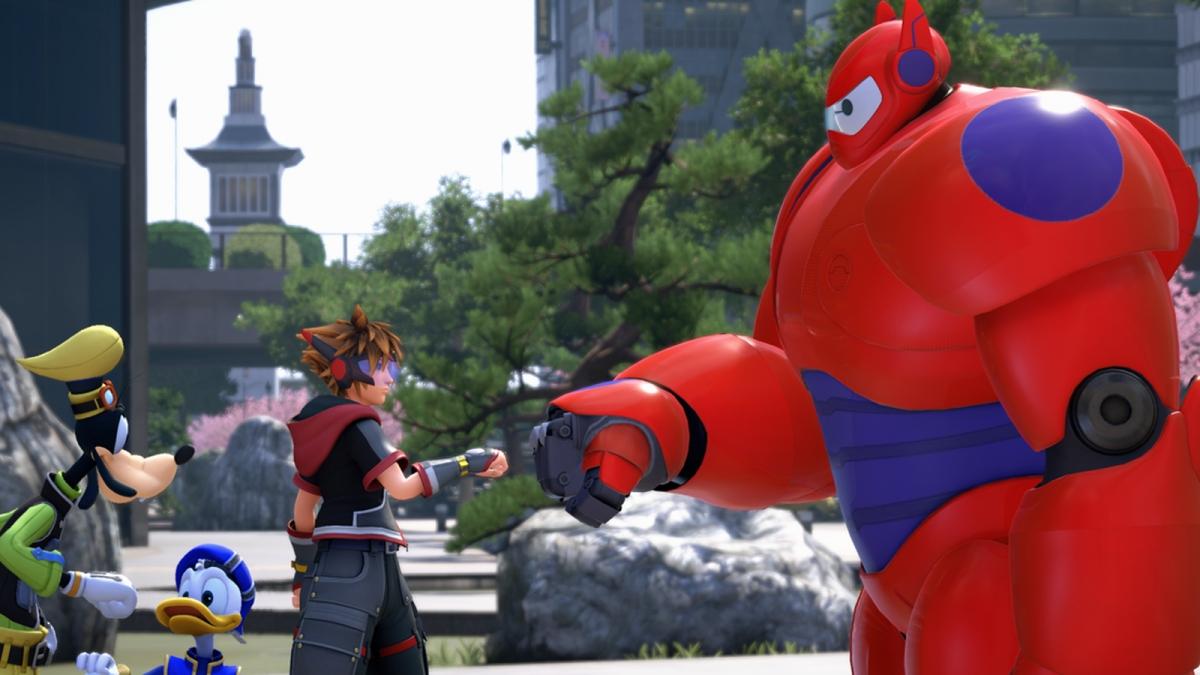В Kingdom Hearts III вот-вот появится повышенная сложность