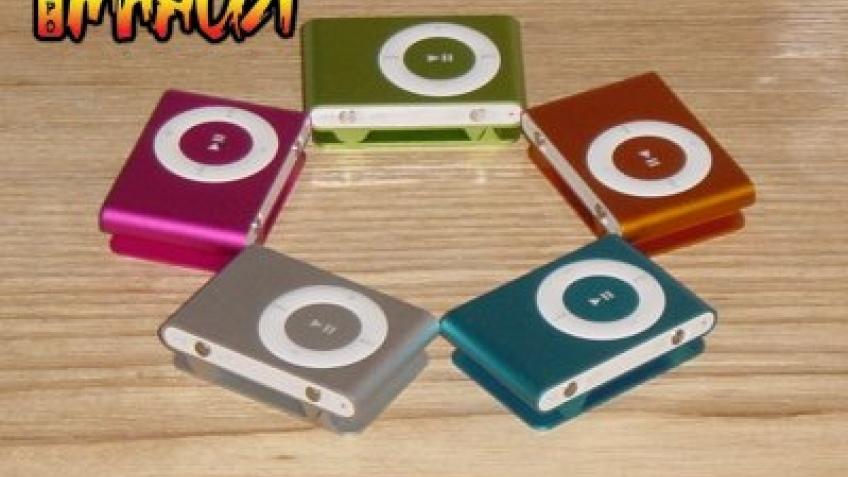 Цветные iPod Shuffle