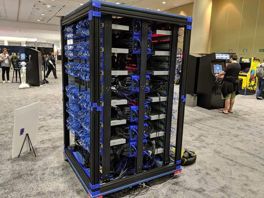Oracle построила суперкомпьютер из 1060 Raspberry Pi3 B+