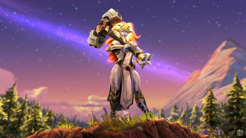 Разработчики Dota2 представили новую героиню по имени Dawnbreaker