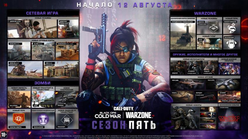 Пятый сезон Warzone: новая Call of Duty, аналог Among Us и другой новый контент1