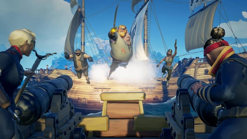 В «пиратском музее» Sea of Thieves очутился живой Кракен