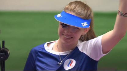 Виталина Бацарашкина выиграла второе золото в Токио с медальоном из «Ведьмака»