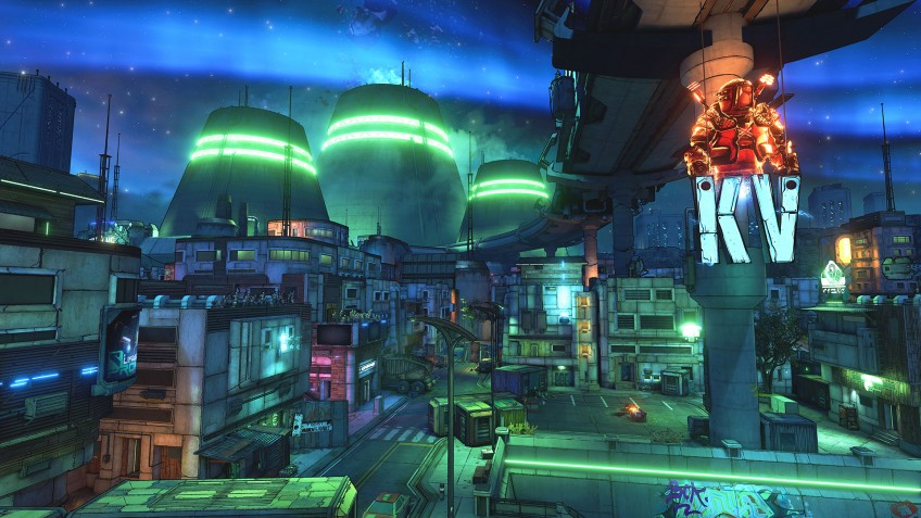 Авторы Borderlands3 опубликовали скриншоты планеты Прометея