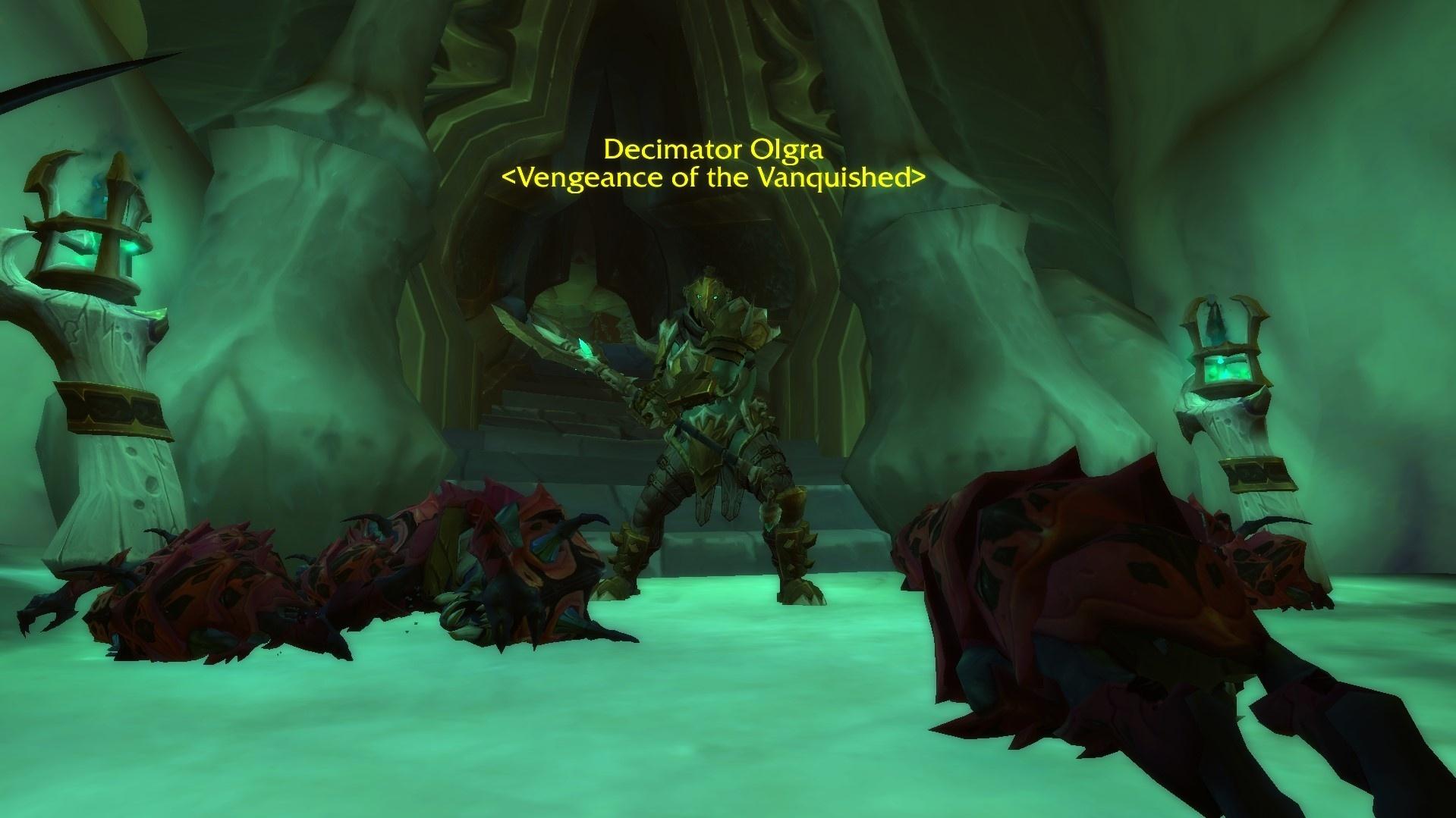 Дело закрыто: жену Манкрика нашли в World of Warcraft: Shadowlands