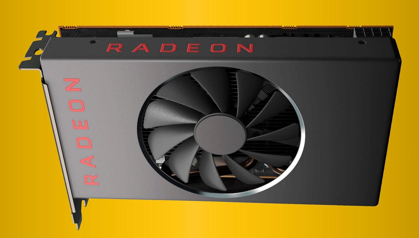 Radeon RX 5600 XT могут выпустить в январе