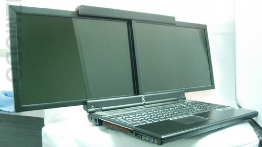 Ноутбук с двумя дисплеями, теперь реальность