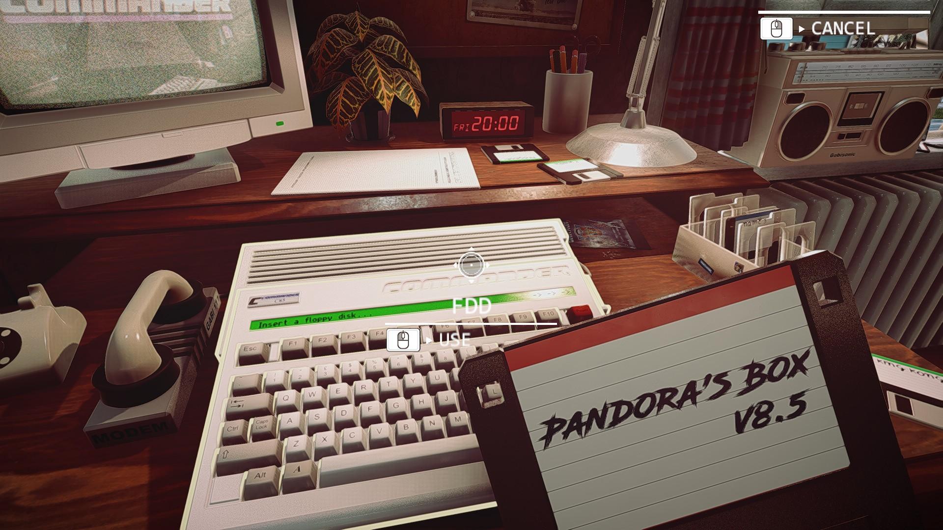 Главным героем и злодеем Commander '85 будет компьютер