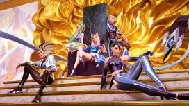 Виртуальная группа K/DA выпустила клип на песню MORE