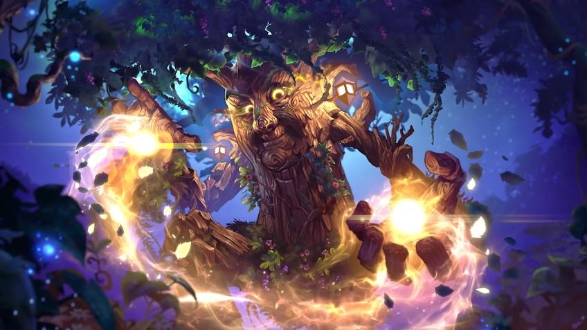 В Hearthstone добавили нового героя-друида — Матушку Лещину