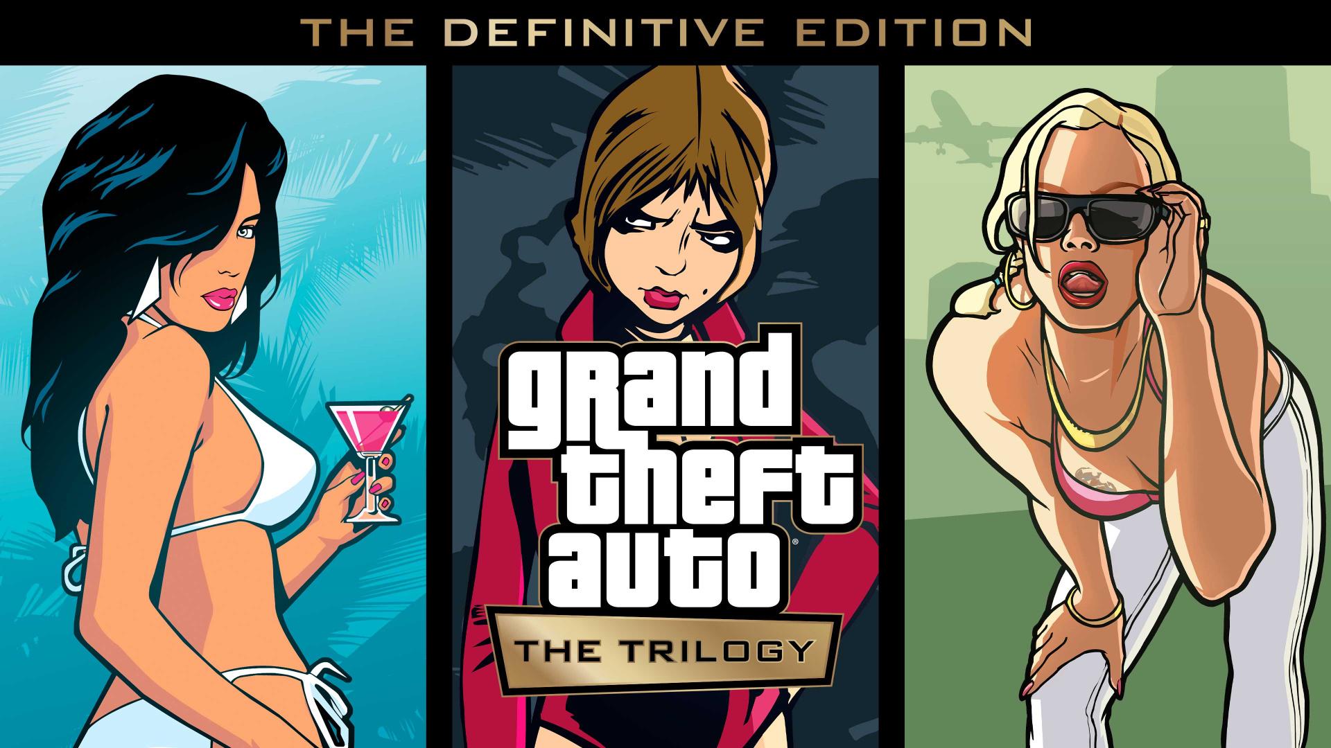 Rockstar анонсировала ремастеры классической трилогии Grand Theft Auto