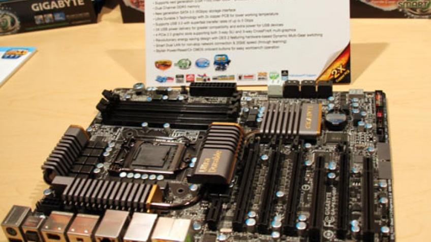 Gigabyte показала материнскую плату на основе Intel P67