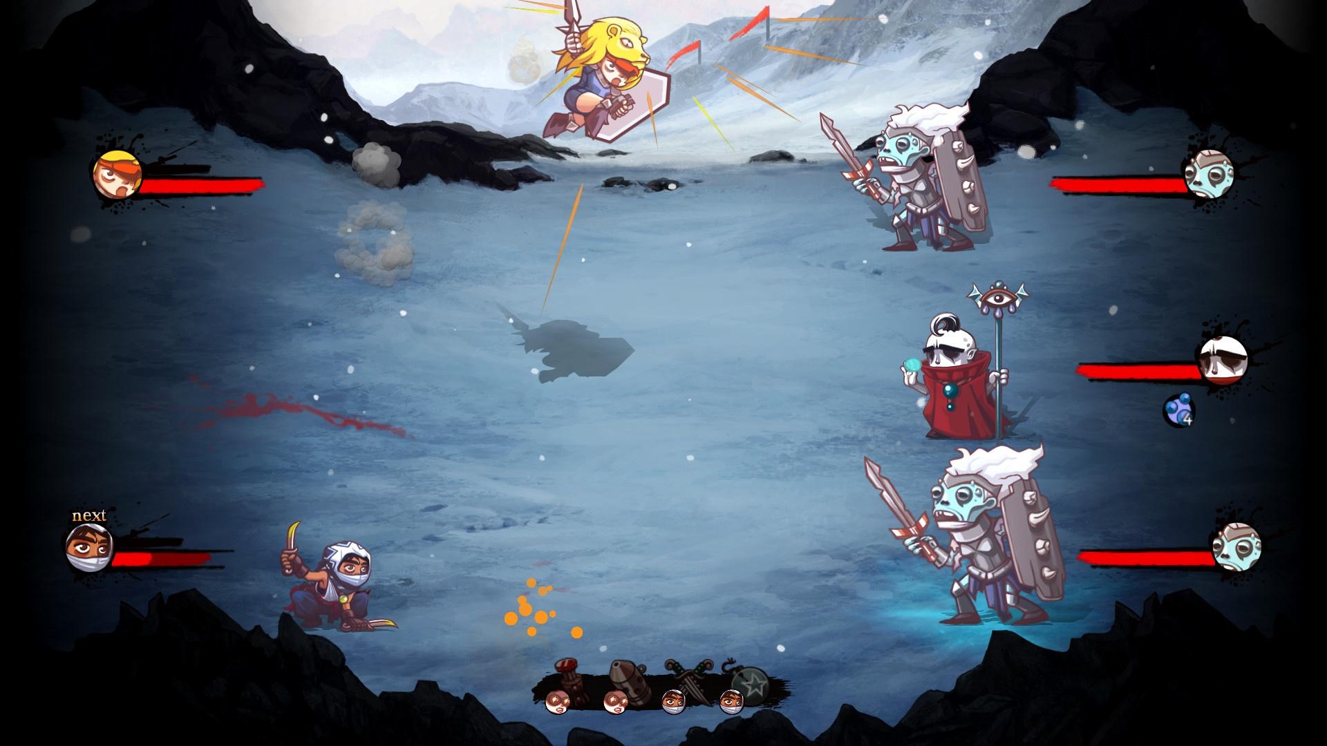 Мрачная тактическая мини-RPG Bonfire вышла в ранний доступ
