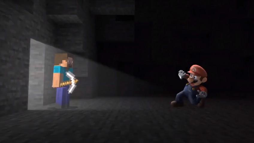 Герои Minecraft пополнят ростер Super Smash. Bros Ultimate
