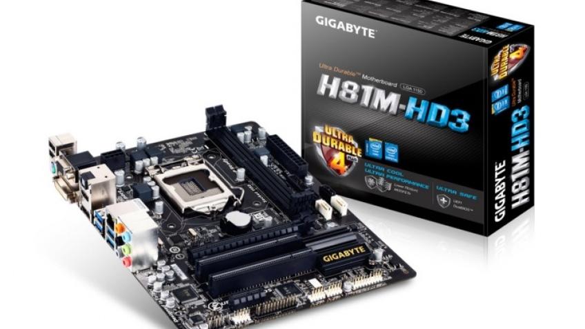 Gigabyte представила материнскую плату H81M-HD3.