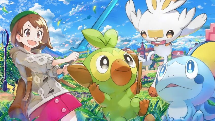 Pokemon Sword and Shield заняли сразу три строчки в EMEAA-чарте