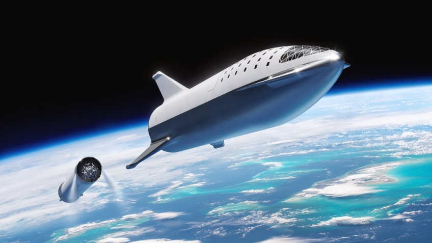 Илон Маск показал тестовый прожиг двигателя будущего Starship