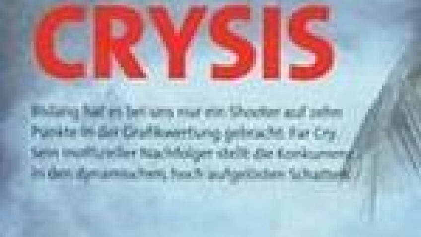 Crysis на ноутбуке