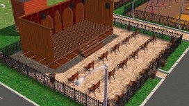 В Ленинградской области дизайн-проекты дворов и улиц сделали в Sims2