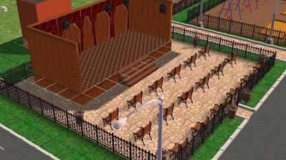 В Ленинградской области дизайн-проекты дворов и улиц сделали в Sims 2