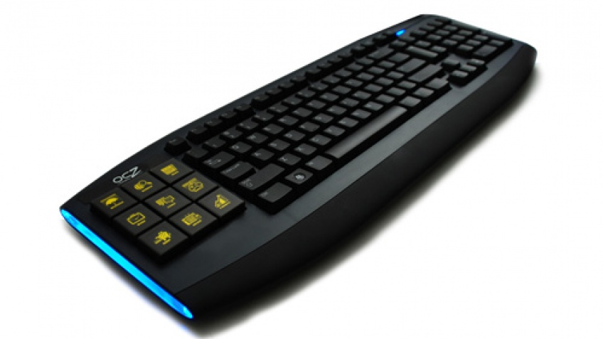 OCZ начала продажи клавиатуры Sabre