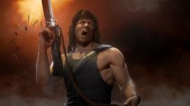 В свежем трейлере Mortal Kombat11 показали геймплей за Рэмбо