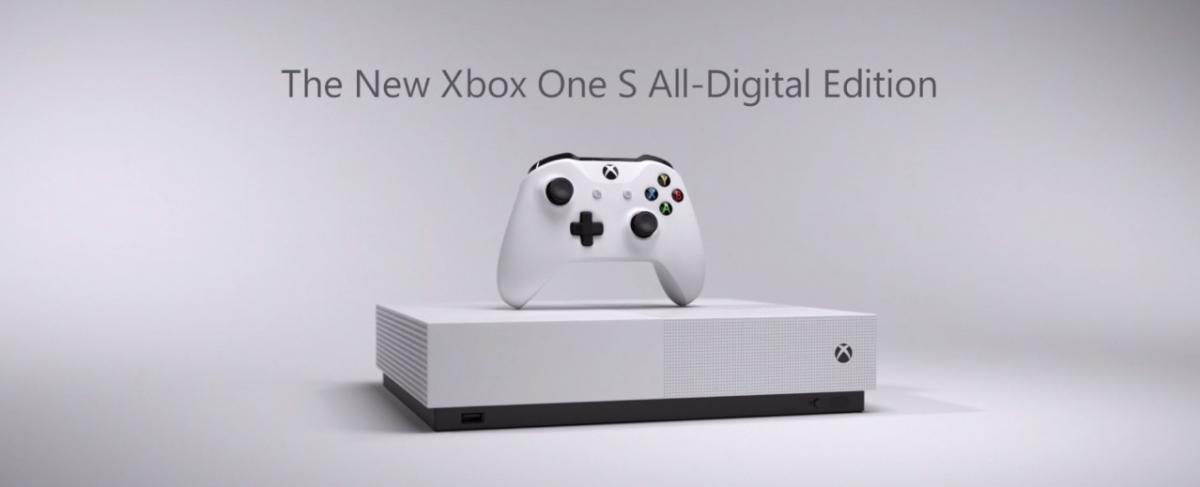 Microsoft анонсировала Xbox One S без дисковода и Xbox Game Pass Ultimate