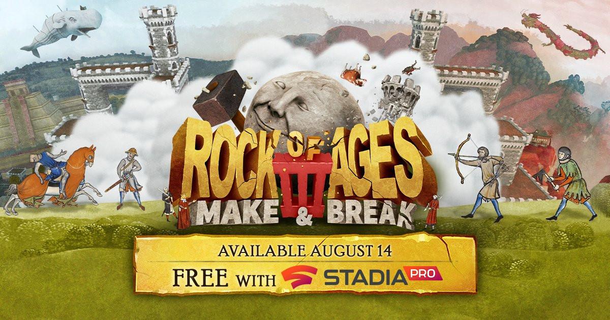 Авторы Rock of Ages3 выпустили хвалебный трейлер в честь Stadia-релиза