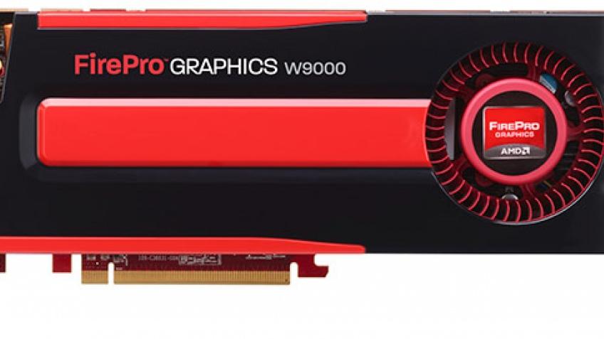 AMD FirePro W9000: профессиональная видеокарта за $4000