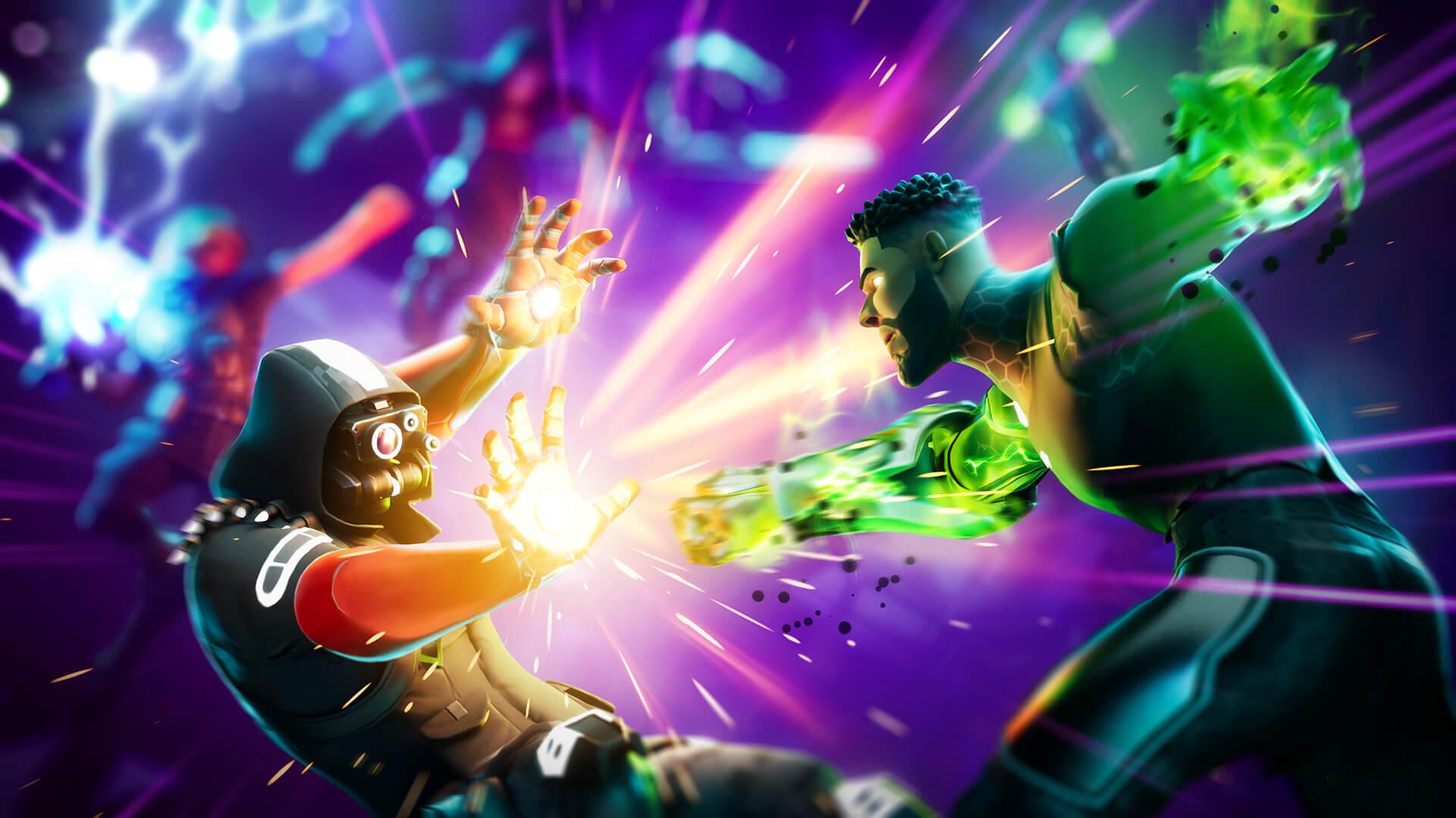 В Fortnite появился временный режим «Marvel: захват»