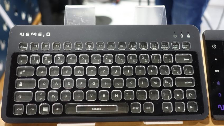 Nemeio показала настраиваемую клавиатуру с E-Ink экранами в кнопках