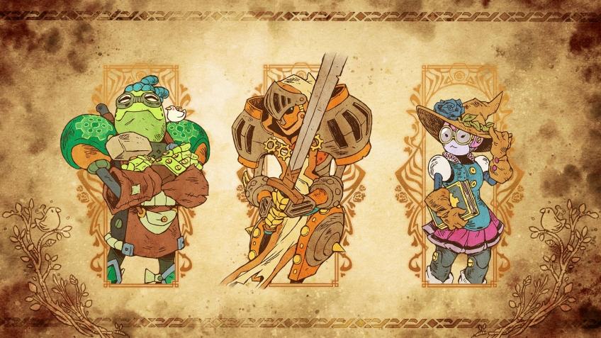 SteamWorld Quest: Hand of Gilgamesh выходит на днях