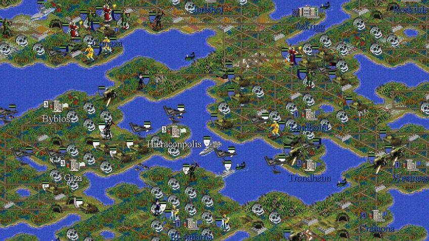 Партия в Civilization2 длиной в десятилетие