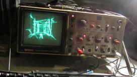 Quake запустили на осциллоскопе