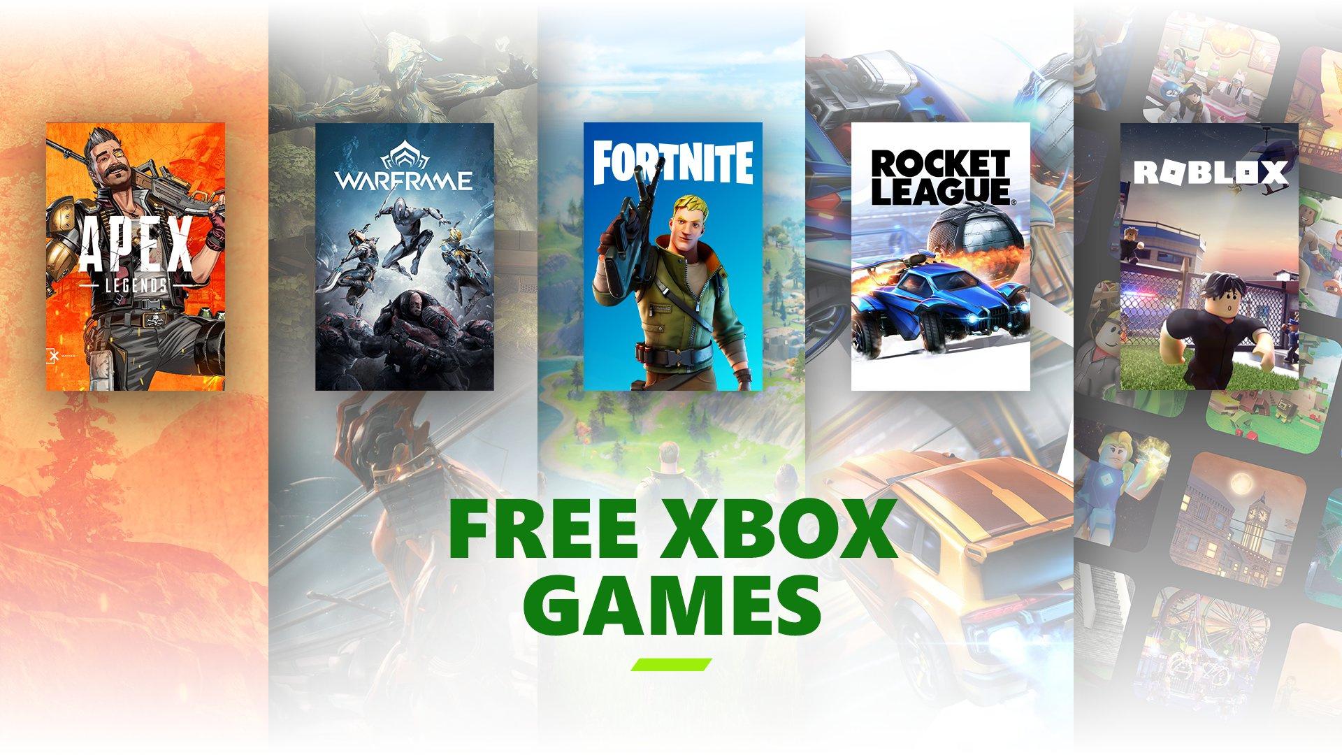 Теперь на консолях Xbox не требуется подписка для условно-бесплатных игр