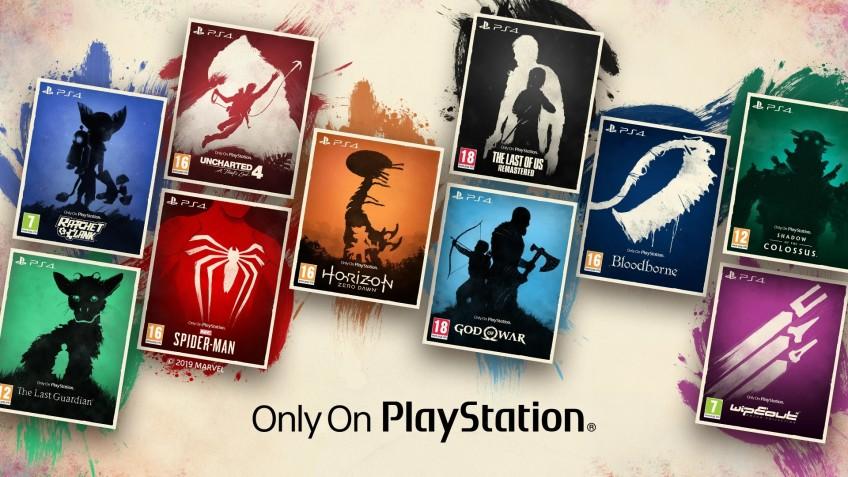 Sony переиздала 10 эксклюзивов PS4 с новыми стильными обложками